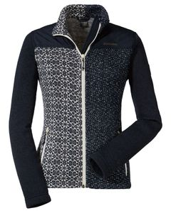 Fleece Jacket Tscherms3 Navy Blazer