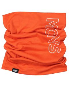 Double Up Neckwarmer Orange Smash