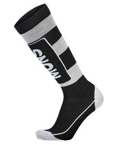 Mons Tech Cushion Sock Black / Grey