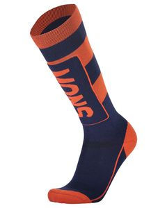 Mons Tech Cushion Sock Navy / Orange Smash
