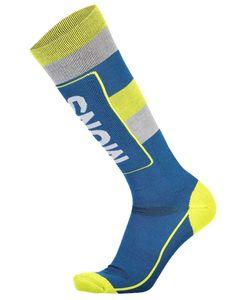 Mons Tech Cushion Sock Oily Blue / Grey / Citrus