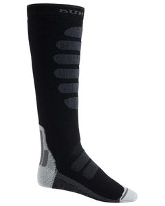Performance + Midweight Sock True Black