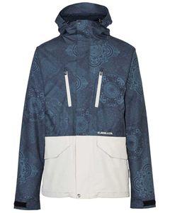 Aspect Jacket - Blue Mandala