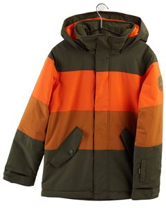 Boys' Symbol Jacket Orangeade Multi