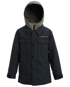 Boys' Uproar Jacket Black Denim