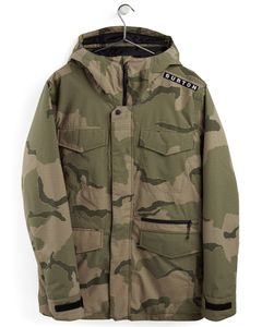 Covert Jacket Barren Camo