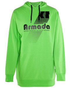 Multiply Pullover Tech Hoody -Flash Green
