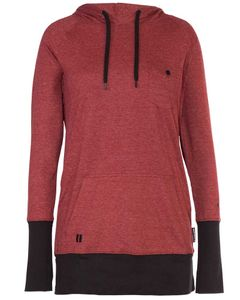 Feather Pullover Hoodie - Port