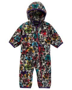 Toddlers' Fleece Onesie Multicolor Butterfly