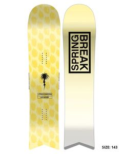 Spring Break Slush Slashers Snowboard 2020