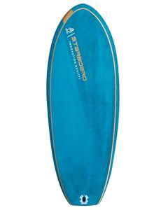 Foil Surf Blue Carbon V.2 5'6 x 21.5 - Surfboard