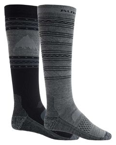Performance Lightweight Sock 2 Pack True Black