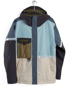 Ballard Jacket Ether Blue Multi