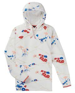 Wms Crown Weatherproof Pullover Fleece Stout White