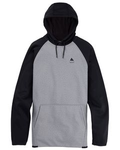 Crown Weatherproof Pullover Fleece Gray Heather/Tr