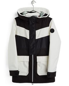 Wms Larosa Jacket True Black/Stout White