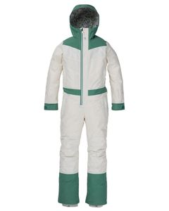 Wms Larosa One Piece Stout White/Frosty Spruce