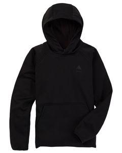 Kids' Crown Weatherproof Pullover Fleece True Blac