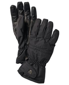 Primaloft leather - Sort Handske