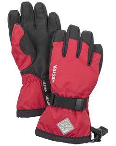 Gauntlet CZone Jr - 5 finger Röd/Svart Handske