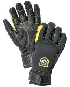 Ergo Grip Active - 5 Finger Handske Sort