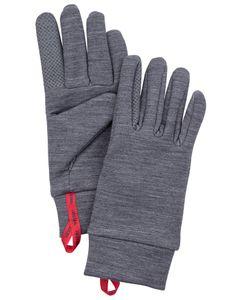 TOUCH POINT WARMTH - 5 FINGER GREY Handske