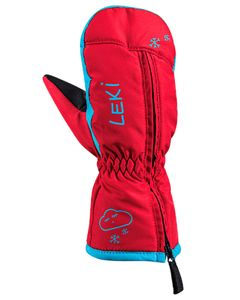 Little Snow Mitt red-cyan