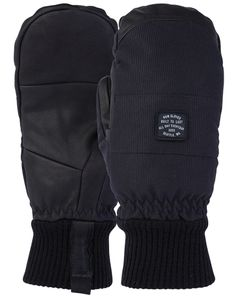 Brier Mitt Black