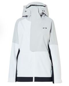 Camellia Shell Jacket White/Grey