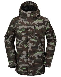 L Gore-Tex Jacket Army