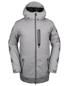D.S. Long Jacket Heather Grey