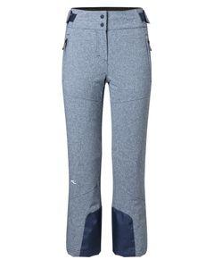 Girls Carpa Melange Pants Atlanta Blue Mel