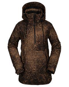 Fern Ins Gore Pullover Leopard