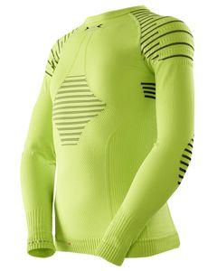 Invent Shirt Long Sleeve Green Lime / Black