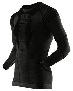 Apani Merino Shirt Long Sleeve Roundneck Black/Blk
