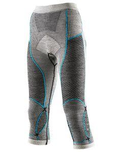Apani Merino Fastflow Pants Lady Blk/Grey/Torquise