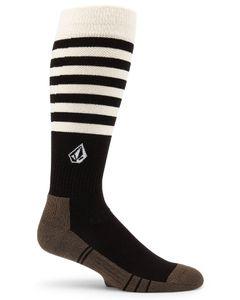 Lodge Sock Black Stripe