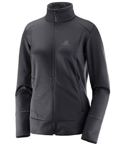 Discovery Full-Zip Dame Black