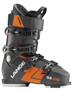 SX 130 Black-Orange Skistøvler