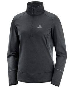 Discovery Half-Zip Dame Black