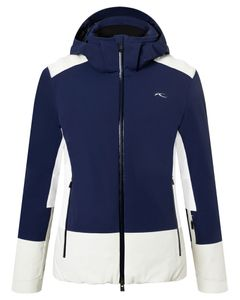 Women Laina Jacket atl blue-peb rock