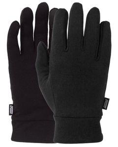 Microfleece Liner Black Handske