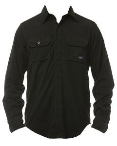 POW Microfleece Shirt True Black