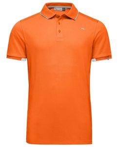 Kjus Stan Polo S/S Front Logo Kjus Orange