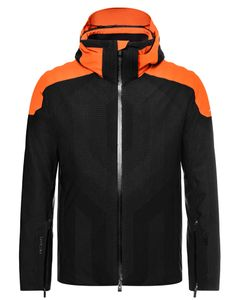 Men Freelite Jacket black-Kjus orange