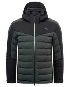 Men Sight Line Jacket dk jet green-blk
