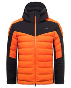 Men Sight Line Jacket kjus orange-black