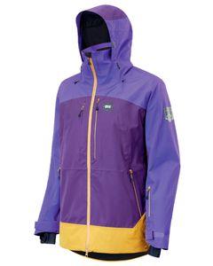 Track Skijakke Dark Purple