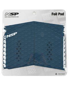 Foil Board EVA Traction Pad Front Blue