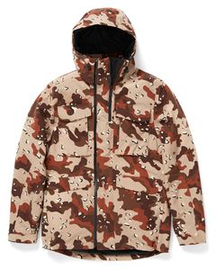 Sanders Jacket - Navy Chocolate Chip Camo